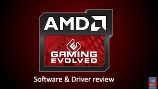 amd gaming evolved sofware review