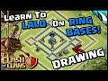 A RING BASE?!? Breaking Down The Internet Ring Base For Air Attacks   Clash of Clans