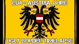 EU4 - Ugly Border Timelapse - Austria / HRE