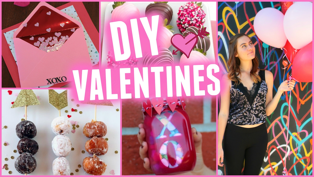 Cute Diy Valentine S Day Gifts Treats Youtube