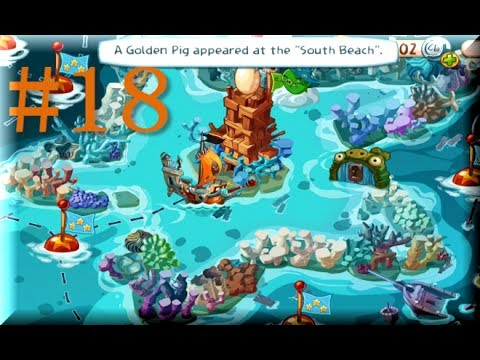 Angry birds epic star reef level 1 6 three stars - Angry birds trio ...