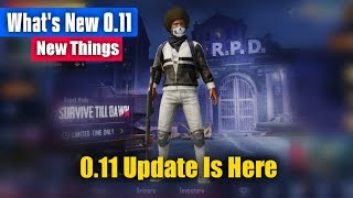 Pubg Mobile 0.11 Update New Things You Miss It ? What is New in 0.11 Update Pubg Mobile !