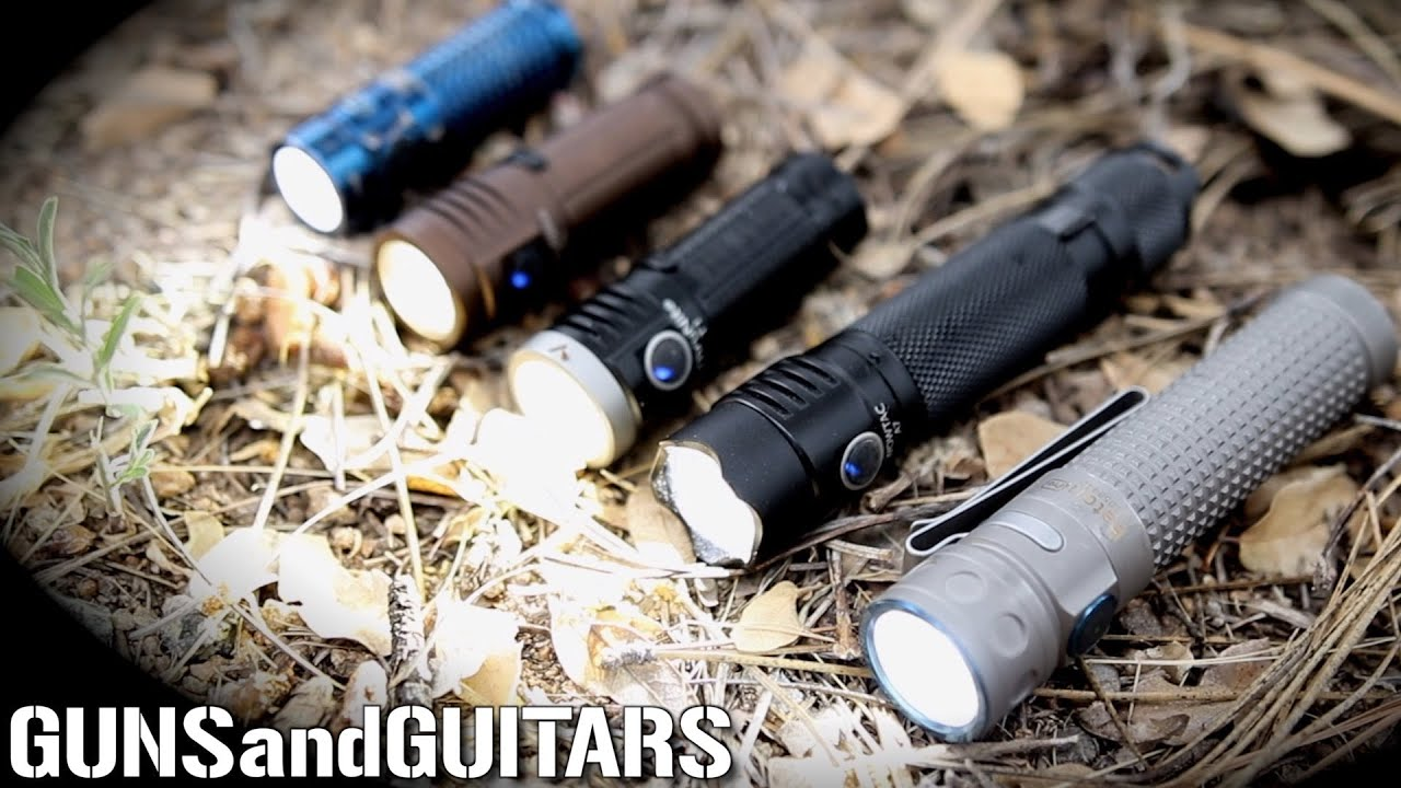 Best Budget EDC Flashlights! (ThruNite T1 and WowTac A7 vs Olight S1R Baton II and Pro)