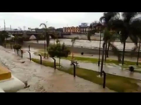 Desborde del río Rímac - Centro de Lima