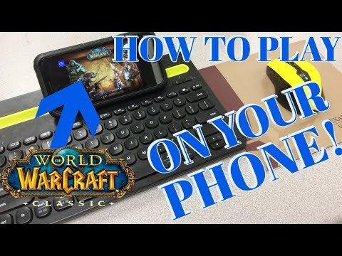 How To Play Classic WoW On Your PHONE!