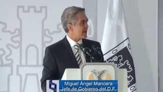 """Miguel Ángel Mancera / Escultura """"Alas de México"""" se integra al acervo cultural de CDMX"""