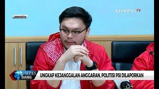 Ungkap Janggalnya Anggaran DKI, Politisi PSI Dilaporkan