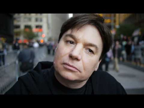 Mike Myers visits Occupy Wall Street