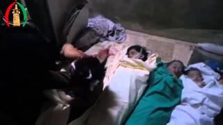 مؤثر جدا أم ترثي ابنها الشهيد الذي استشهد جراء قصف الطيران الحربي على احياء مدينة درعا