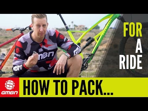How To Pack For A Mountain Bike Ride