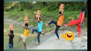 Top New Comedy Video 2019 | Try To Not Laugh | Episode-35 | By Fun ki vines