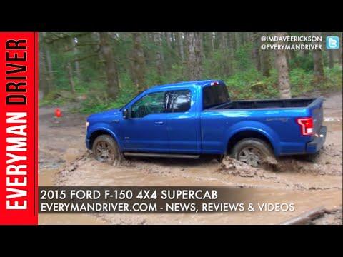 Off-Road Drive: 2015 Ford F-150 on Everyman Driver