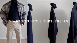 3 Ways To Stỳle Turtlenecks (Winter Lookbook)