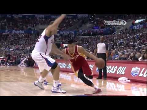 [11.4.13] Chandler Parsons - Cutting Finish from Jeremy Lin vs Clippers