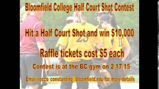 Win $10,000 at Bloomfield College on 2/17/2015!!