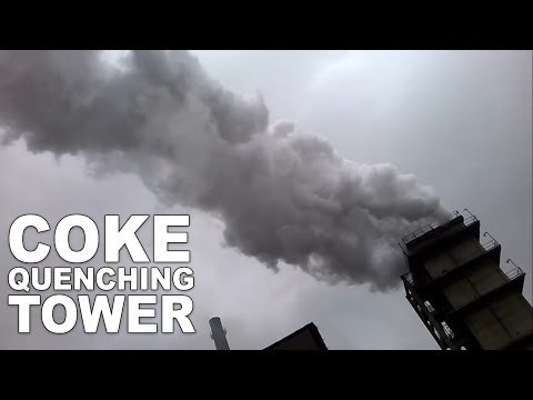 Coke Quenching Tower | Coke Oven Batteries | Steel Plant