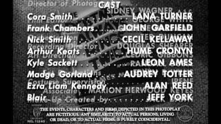 郵便配達は二度ベルを鳴らす(1946)(字幕版)(プレビュー)