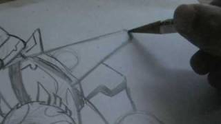 HOW TO DRAW TRANSFORMERS Revenge of the fallen STARSCREAM animated style part 3.MOD