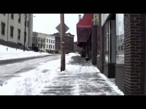 Winter Walk Through Northampton, MA