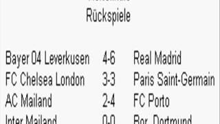 FIFA 14 (UEFA Champions League alle Rückspiel Ergebnisse Viertefinale)