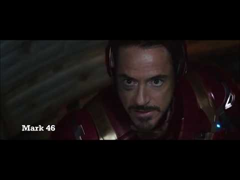 Iron Man - All Suit Names And Transformation - EVOLUTION (2008-2017)