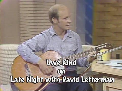 Uwe Kind on Late Night with David Letterman
