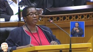 """EFF MP Mashabela To ANC """"You Must Listen You Thieves"""""""