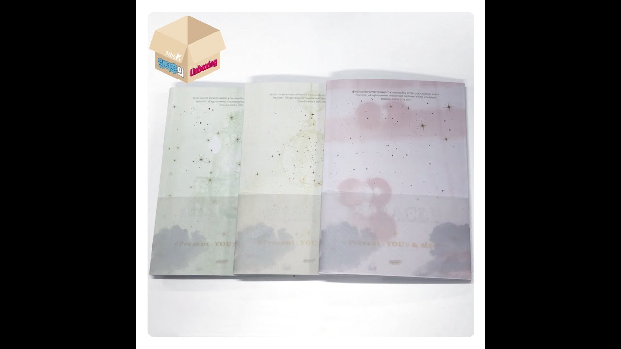 1theK Unboxing(원덕후의 언박싱): GOT7(갓세븐) _ Repackage Album '[Present : YOU] &ME Edition'