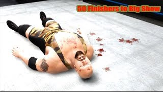 WWE 13 | 50 Finishers to Big Show