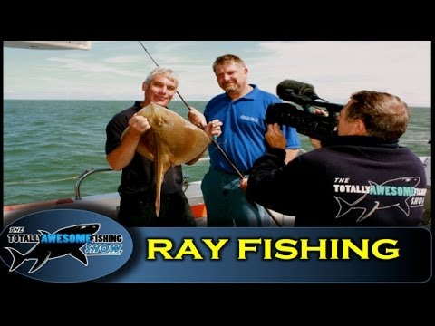 How to catch Rays - Totally Awesome Fishing Show