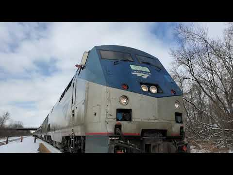 Quick Railfanning at cp251 Rome NY!!