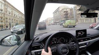 Тест драйв Audi A4 2016 2.0 Turbo 190 л.с. Цены Интерьер Экстерьер