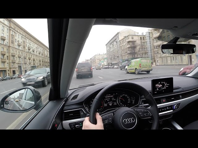Тест драйв Audi A4 2016 2.0 Turbo 190 л.с. /Цены/ Интерьер/Экстерьер