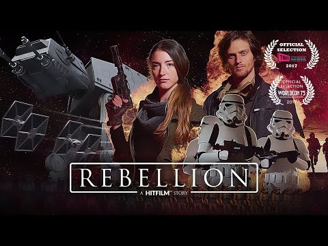 Rebellion - a Star Wars-style fan film. Made with HitFilm Express.
