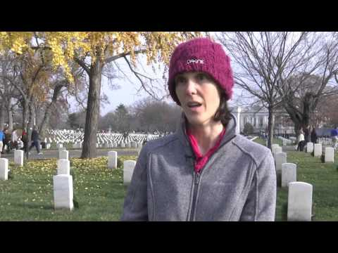 Sights & Sounds from Wreaths Across America at Arlington National Cemetery