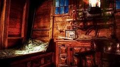 Ambience/ASMR: Ship Captain's Cabin on Rainy Night, 16th Century Spanish Galleon, 5 Hours