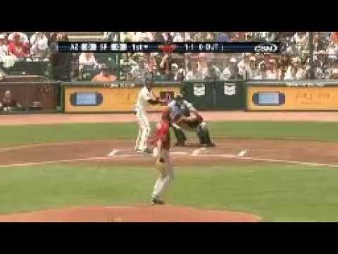 Randy Johnson Throws an Eephus Pitch