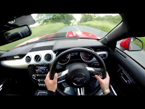 2016 Ford Mustang GT 5.0 V8 Solo Mach Thunder Exhaust - POV TEST DRIVE!