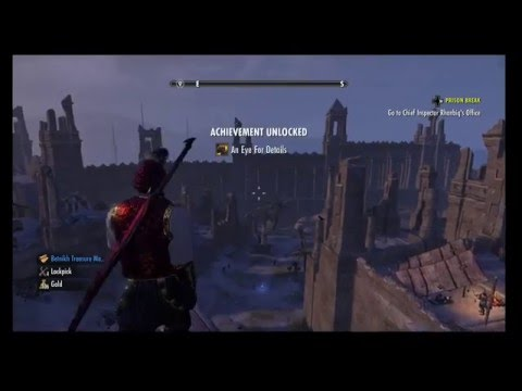 The Elder Scrolls Online: Hew's Bane Thieves Trove Location - No Shira Citadel