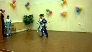 Боевой танец  Кунг-фу (Ушу). Тренер - Мусаев Серик