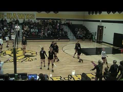 North Union vs Emmetsburg Set 2 10/13/16