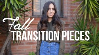 Fall Transition Pieces