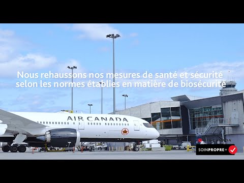 Voici Air Canada SoinPropre+