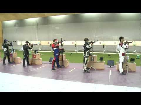 Finals 10m Air Rifle Men - ISSF World Cup in all events 2012, London (GBR)