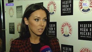 Алсу на показе Валентина Юдашкина. Неделя моды в Москве