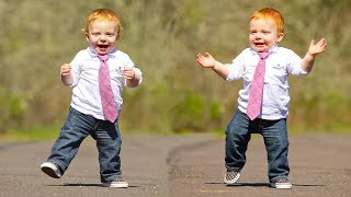 Funny Babies Wearing Shoes for the First Time Compilation (2017)