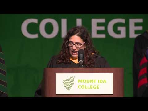 2017 Mount Ida College Commencement