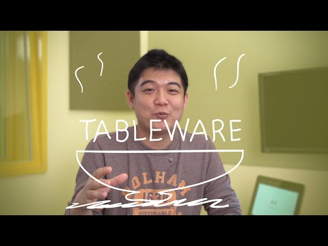 Weekly Korean Words with Jae - Tableware