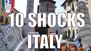 Visit Italy - 10 Things That Will SHOCK You About Italy