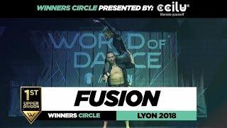 Fusion  I  1st Place Upper Division  I  Winners Circle  I  World of Dance Lyon 2018  I  #WODFR18